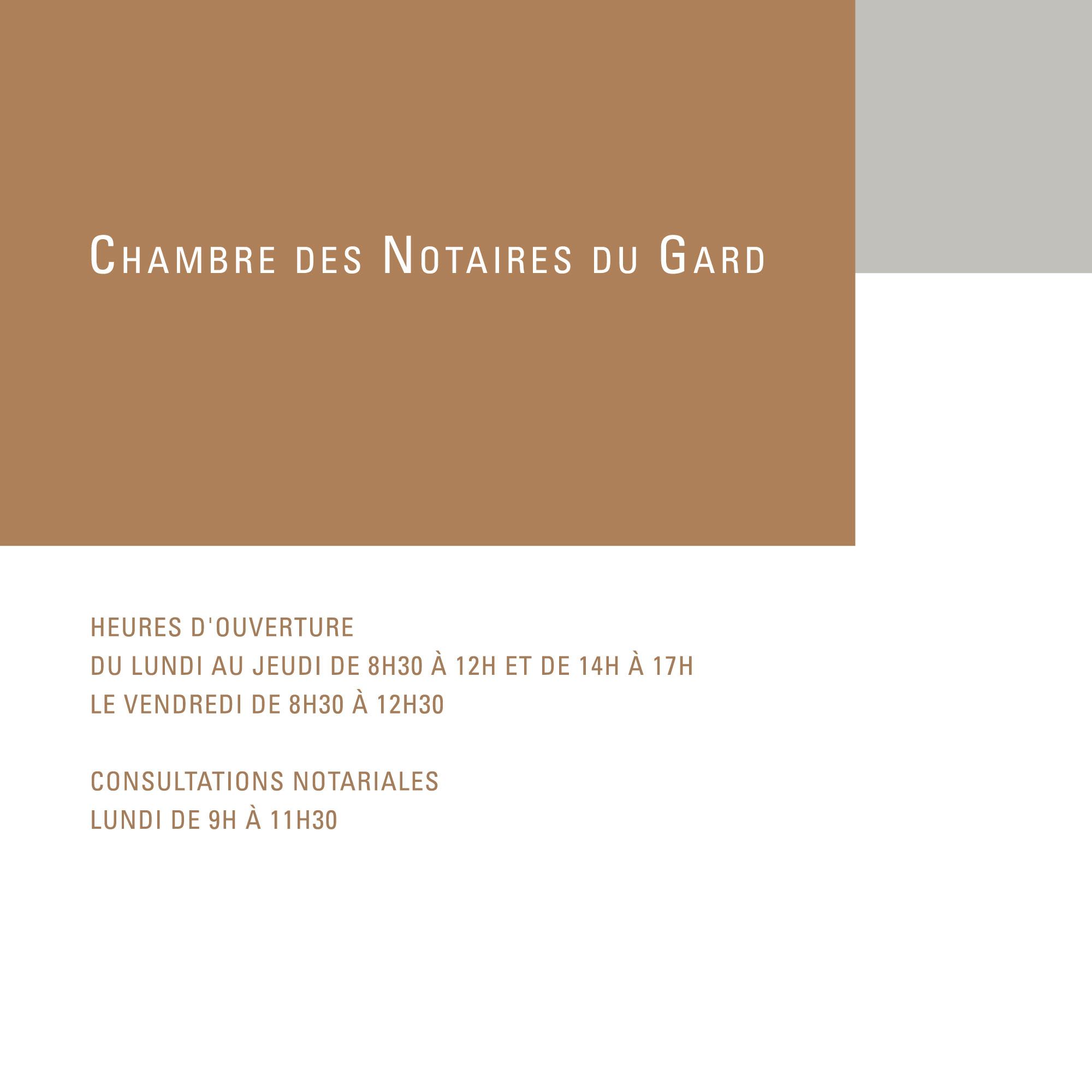 Chambre des Notaires du Gard Eric Pol Simon